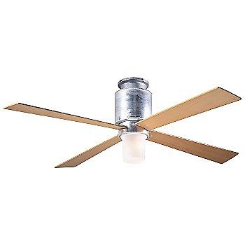 Galvanized finish / Maple blades / LED