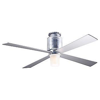 Galvanized finish / Nickel blades / LED