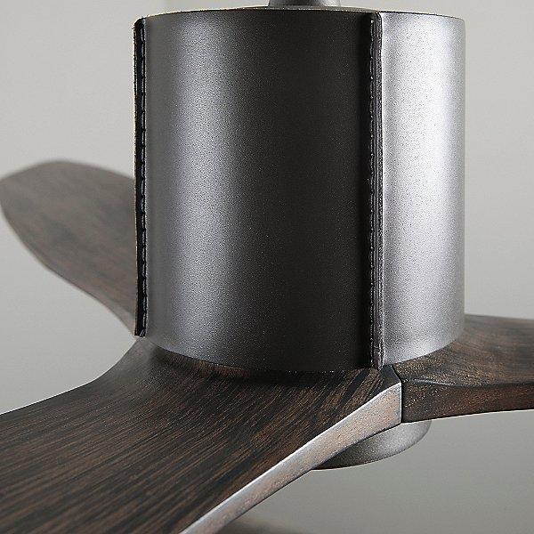LeatherLuxe Ceiling Fan