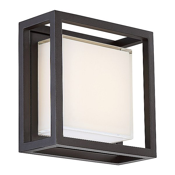 Modern Forms Framed Led Square Outdoor Wall Sconce Ylighting Com