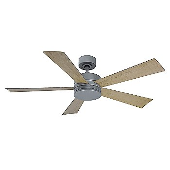Stainless Steel Fan Body and Blade finish / 42 inch, un lit