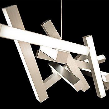 Brushed Aluminum finish / 48-Inch size