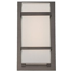 Phantom Outdoor Wall Light (Graphite/Medium) - OPEN BOX RETURN