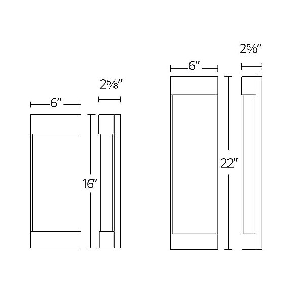 Fathom LED Outdoor Wall Sconce
