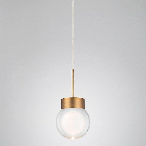 Double Bubble LED Mini Pendant Light