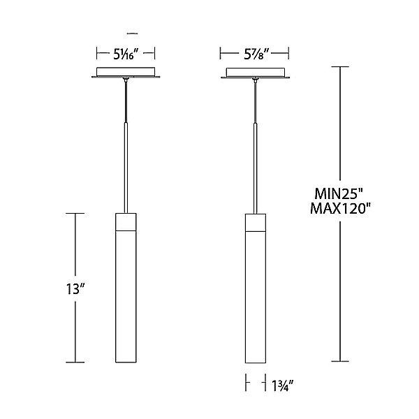 Minx LED Mini Pendant Light