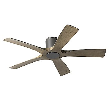 Graphite Fan Body with Weathered Gray Blade finish