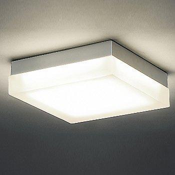 Titanium finish, illuminated