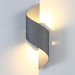 Helix Outdoor Wall Sconce