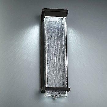 Black finish / Large size, illuminated