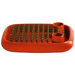 Magis Dish Doctor Dish Rack (Orange Glossy/Green Caps) - OPEN BOX RETURN