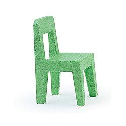 Magis Seggiolina Pop Children's Chair, Set of 4 (Matt Green Color) - OPEN BOX RETURN