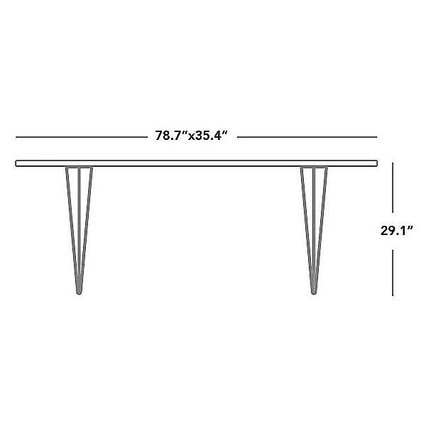 Magis Tavolo XZ3 Rectangular Table