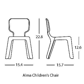 Alma Children's Chair schematic