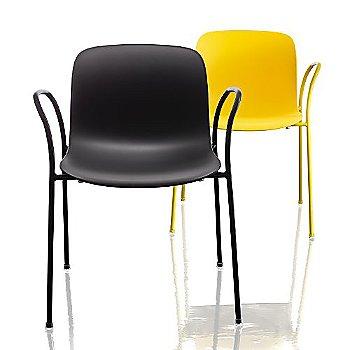 Troy Plastic Armchair, Set of 2
