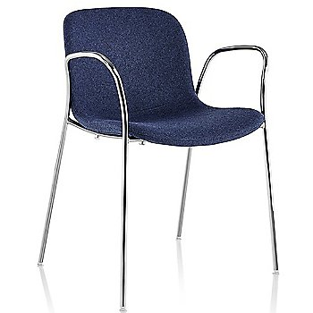 Divina MD 773 seat with Chrome base finish