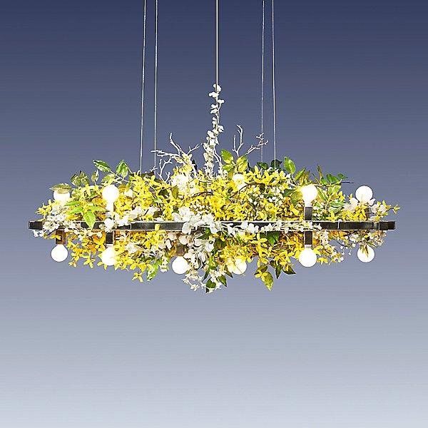 Matrix Floral Linear Suspension