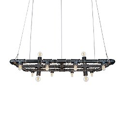 Raw Banqueting Linear Suspension Light