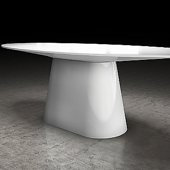 White Lacquer finish, in use