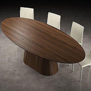 Walnut finish, in use