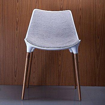 Oatmeal Fabric with Teak Legs