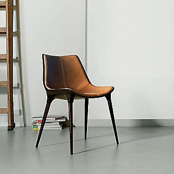 Aged Caramel Leather with Cathedral Ebony Legs / in use
