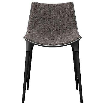 Charcoal Denim Fabric with Black Oak Legs