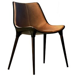 Langham Dining Chair (Caramel on Cathedral Ebony)-OPEN BOX