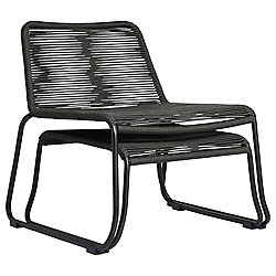 Barclay Lounge Chair and Ottoman (Dark Grey)-OPEN BOX RETURN
