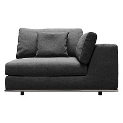 Perry Modular Right Arm Sofa Chair (Shadow Grey) - OPEN BOX