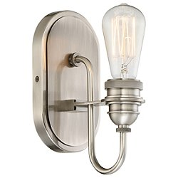 Uptown Edison 1 Light Bath Light