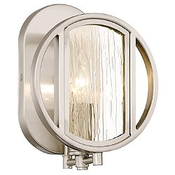 Via Capri Bathroom Wall Sconce
