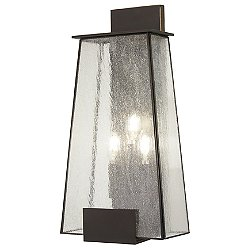 Bistro Dawn 3-Light Outdoor Wall Light
