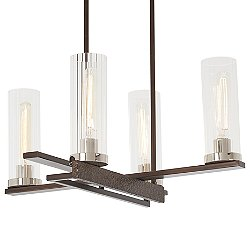 Maddox Roe 4-Light Chandelier