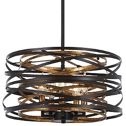 Vortic Flow Pendant / Semi-Flush Mount Ceiling Light