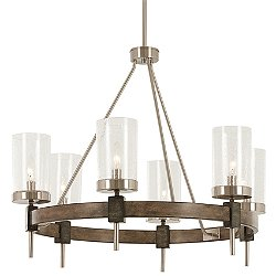 Bridlewood Chandelier (6) - OPEN BOX RETURN