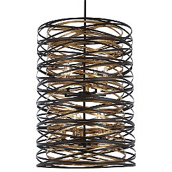 Vortic Flow Chandelier (10 Lights) - OPEN BOX RETURN