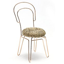Donut Chair, Set of 2 (Copper) - OPEN BOX RETURN