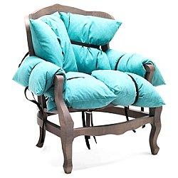 7 Pillows Armchair (RAL 7036/C_03) - OPEN BOX RETURN