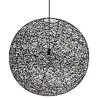 Random II Light by Moooi (Black/Small/LED) - OPEN BOX RETURN