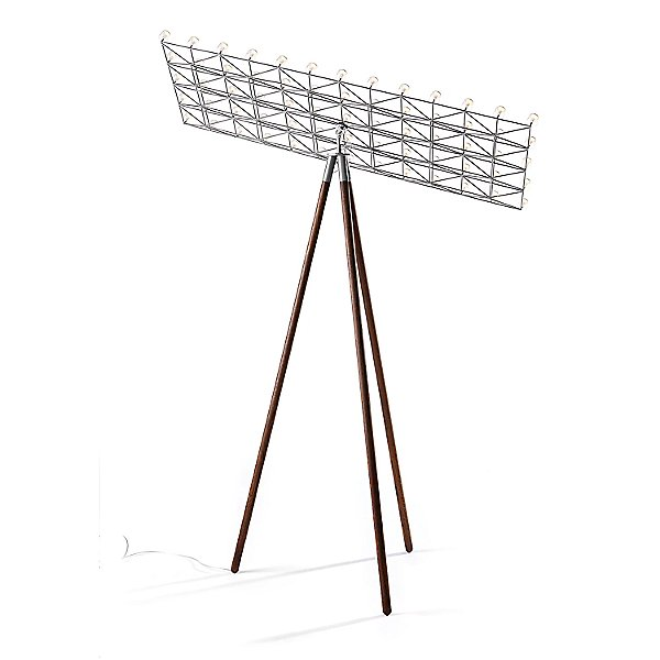 Space Frame Floor Lamp