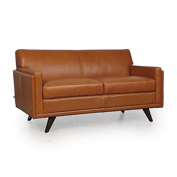 Milo Leather Loveseat