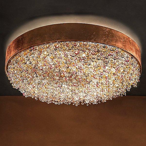 Masiero Ola Pl6 Semi Flush Mount Ceiling Light Ylighting Com