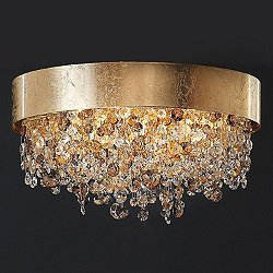 Ola PL4 OV Semi-Flush Mount Ceiling Light
