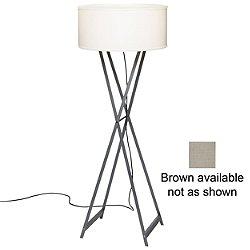 Cala 140 Outdoor Floor Lamp (Grey) - OPEN BOX RETURN