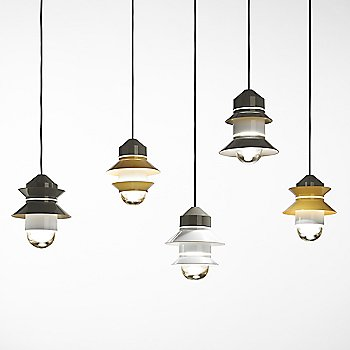 Santorini IP65 Pendant with Canopy collection