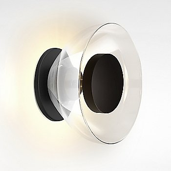 Black Backplate / Transparent Glass