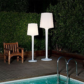 InOut Floor Lamp collection / illuminated
