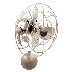 Michelle Parede Wall Fan (Brushed Nickel/Dry) - OPEN BOX