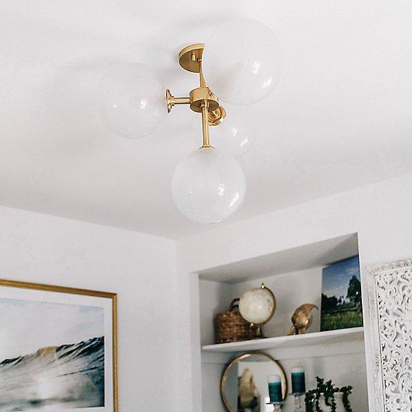 Ashleigh Semi-Flush Mount Ceiling Light